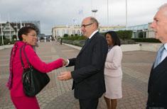 George Pau-Langevin ouvre la journée des Epl Outre-mer à Deauville