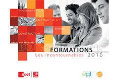 Le catalogue des formations 2016 est disponible
