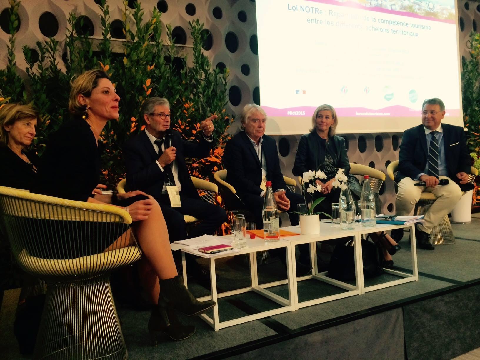 La loi NOTRe au Forum interactif du tourisme