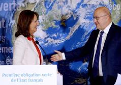 Transition énergétique : la première obligation souveraine verte de France
