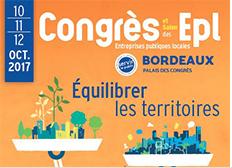 Bordeaux, point d'équilibre du Congrès des Epl