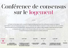 Lancement de la conférence de consensus