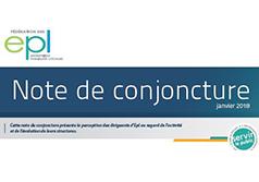 Découvrez la nouvelle note de conjoncture des Epl