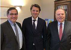 François Baroin : ''Une vision partagée du rôle des collectivités et des Epl''