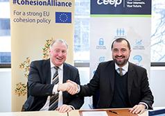 Karl-Heinz Lambertz reçu par le CEEP