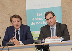 Jean-Marie Sermier et François Baroin renforcent les liens entre les maires de France et leurs Epl