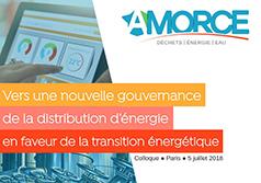 Colloque ''Vers une nouvelle gouvernance de la distribution d'énergie''