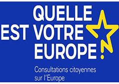 Consultation citoyenne sur les financements européens après 2020