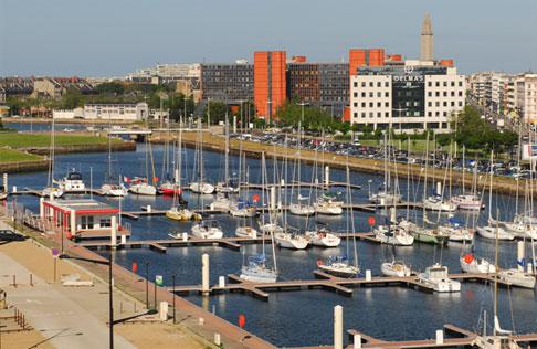 Le nouveau Port Vauban a été inauguré le 27 avril 2012 © Le Havre plaisance