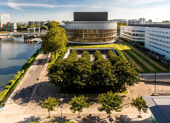 Le succès à l'international de La Cité des congrès de Nantes