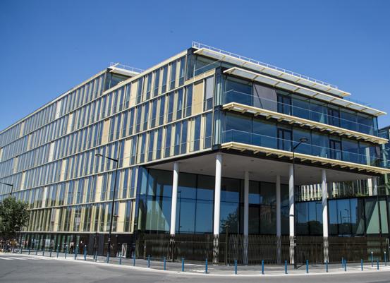 Un siège social flambant neuf pour Véolia Environnement à Aubervilliers