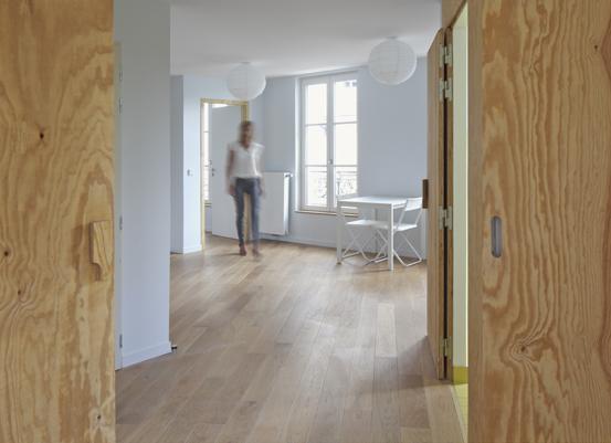 Dans le 14e arr. de Paris, le bailleur Élogie propose les huit premiers appartements sociaux évolutifs de la capitale. ©Agnès Clotis / Élogie-Siemp