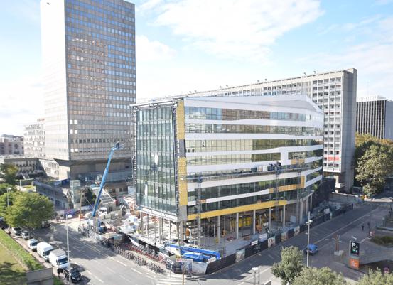 La Spl Lyon Part-Dieu a imaginé un ''poste de commande central'' qui offre une garantie d'accès aux multiples chantiers dans un temps maîtrisé.©SplLyonPartDieu