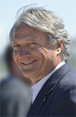 Philippe Augier, maire de Deauville et président de la Communauté de communes Cœur Côte fleurie