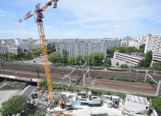 La résidence de la Porte de Vanves (Paris 14e arr.) offre le suivi de sa construction en temps réel depuis le site de la RIVP. ©Devisubox
