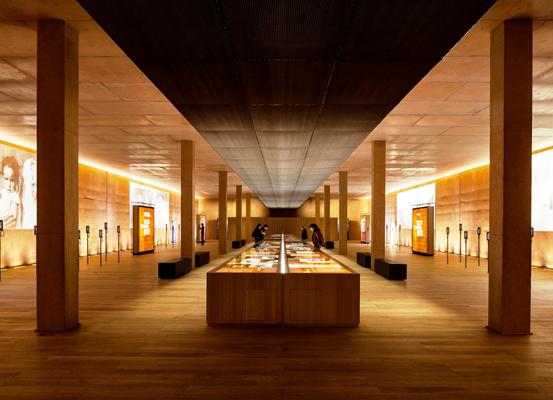 salle d'exposition du mémorial de Rivesaltes ©Sem Rousillon aménagement