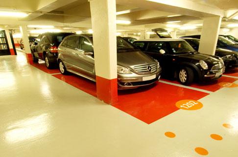 ''Nous équipons nos parkings d'éclairage Led et c'est 30 % d'économie d'énergie © Horizons
