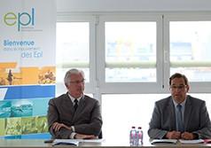 Jean-Marie Sermier (à dr.) et Marc Robert, maire de Rambouillet. Photo FedEpl @Alexandre Nestora
