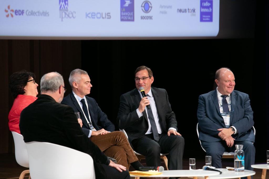 De g. à dr. : Sophie Errante, Christophe Bouillon, Jean-Marie Sermier et Pascal Bolo. Photo FedEpl ©Stéphane Laure