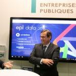 Christophe Bouillon (à g.) et Jean-Marie Sermier le 5 décembre 2018 à Rennes. Photo FedEpl ©Stéphane Laure