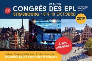 Prochain congrès à Strasbourg les 8-9-10 octobre 2019