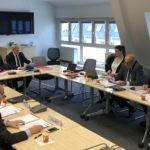 Le Bureau de la Fédération des Epl réuni le 12 février à Paris. Photo FedEpl