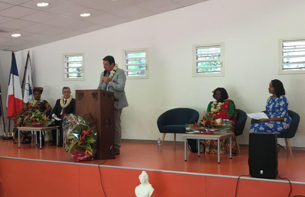 Plénière ouverture de la Conférence à Mayotte